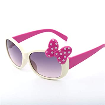 MoHHoM Gafas De Sol para Niños, Moda Cute Cat Eye Bow Kids ...
