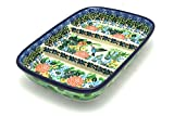 Polish Pottery Dish - Divided Rectangular - Unikat Signature U3271