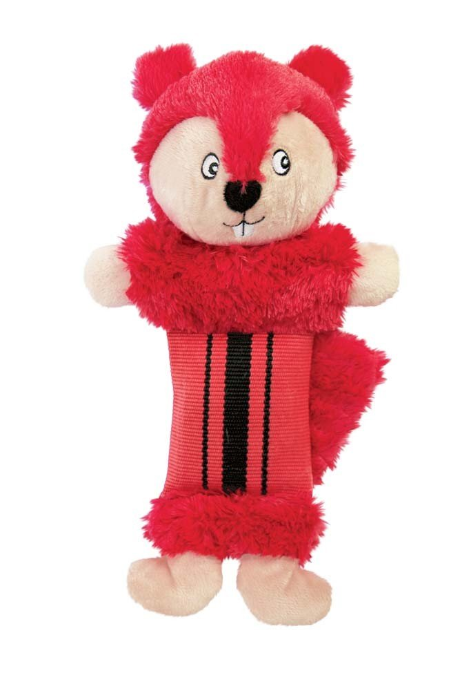 KONG Fire Hose Friends Cuddly Squeak Crinkle Sound Dog Interactive Toy
