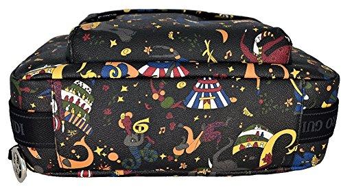 Comprar Tienda De Espacio Libre Barato Primera Calidad Borsa Tracolla Piero Guidi Donna Nero Profondo Magic Circus Soft Shoulder Bag With Strap Woman Black 10Tm5Uh