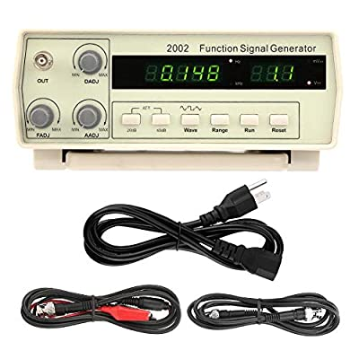Signal Generator, VC2002 Multi-Functional Desktop Signal Generator 0.2Hz~2MHz 100-240V(US)