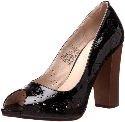 (Bronx Women's Day Lilly Pump,Black Patent,40 EU/10 M US)