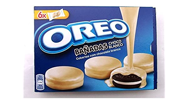 Kraft Oreo White Chocolate Cookies Dipped Covered Special Edition