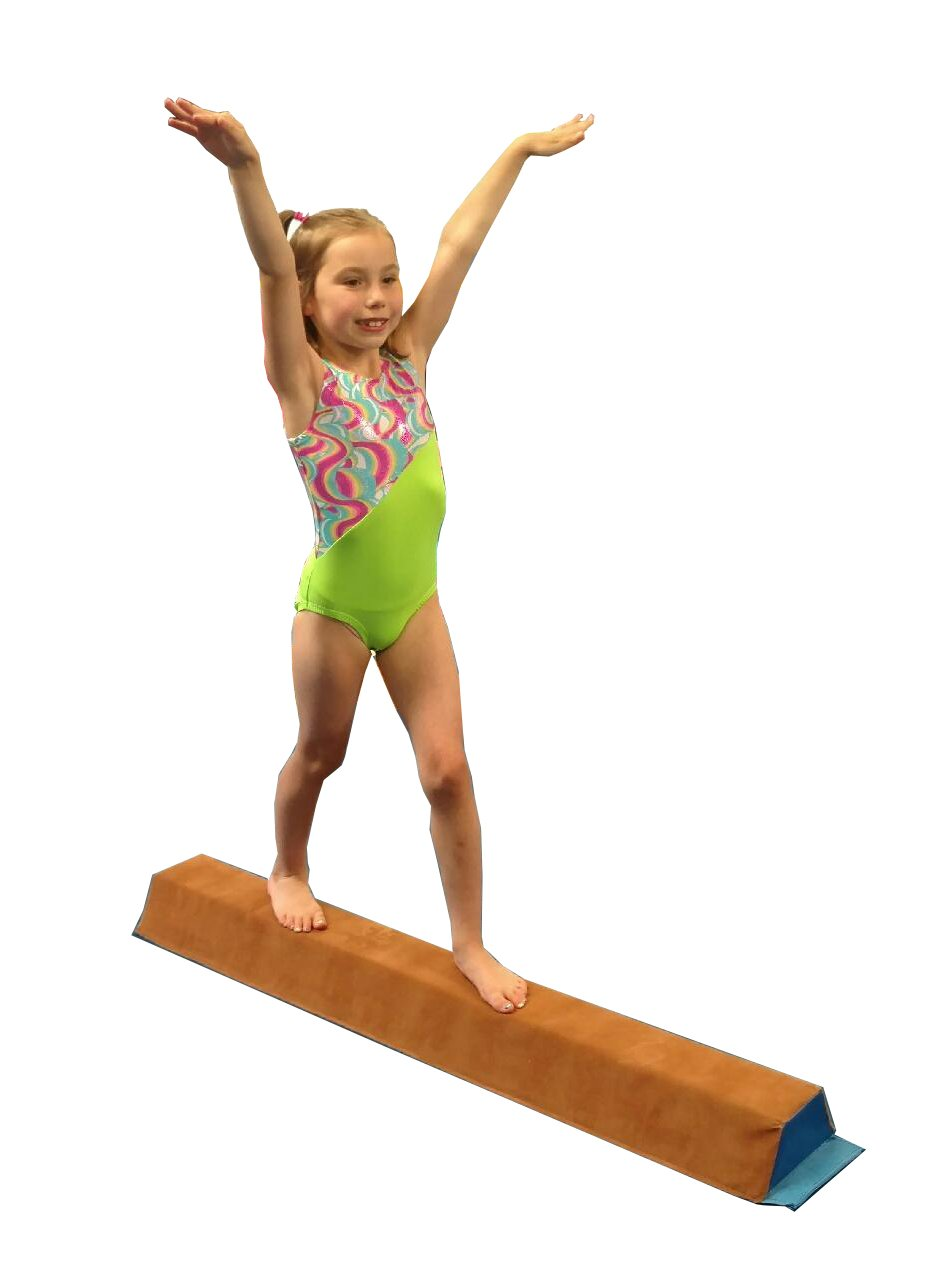 Team Sports Gymnastics Low Suede 4' Sectional Beam!