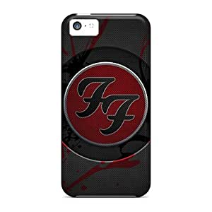New Arrival Cover Case With Nice Design For Iphone 5c- Foo Fighters