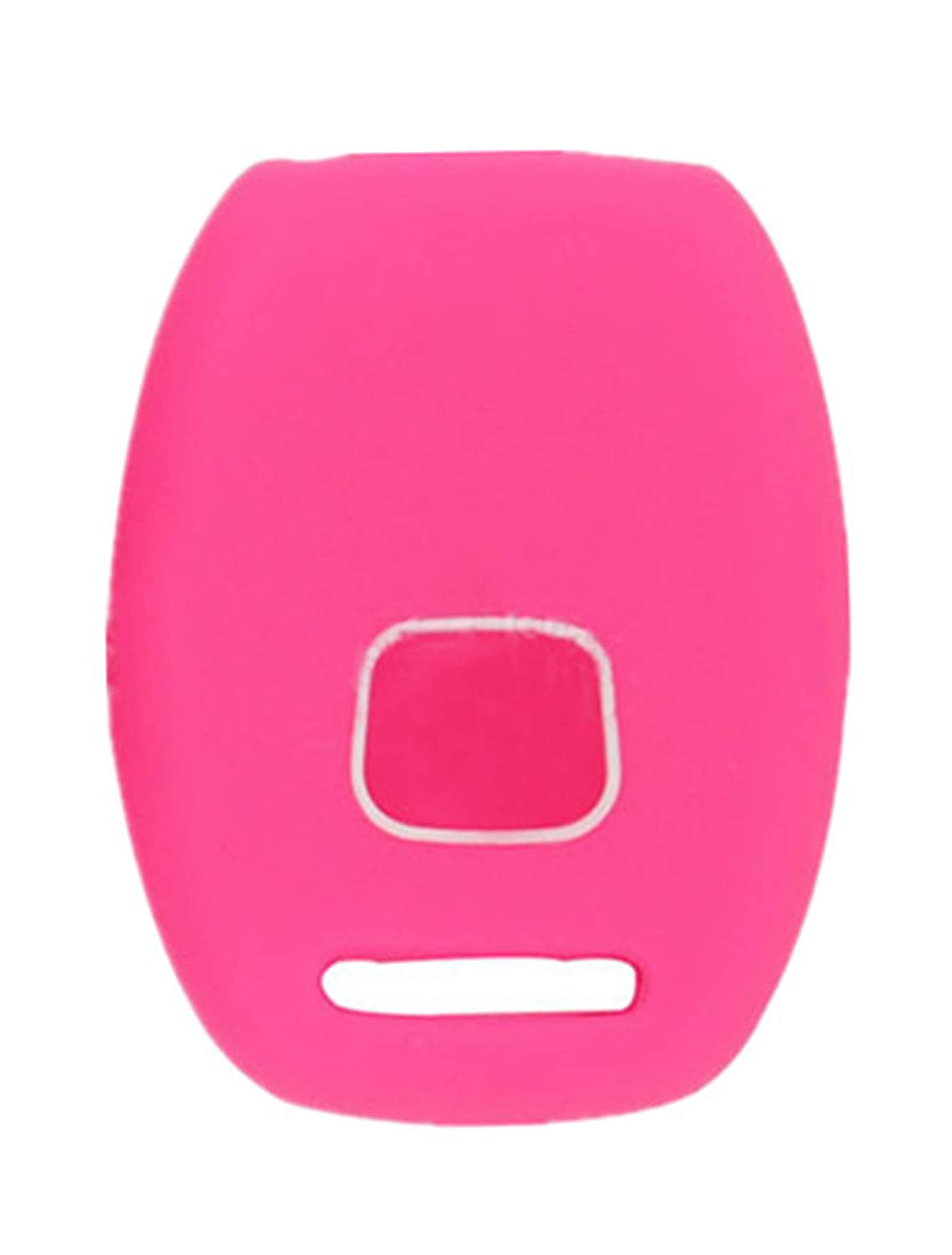 KAWIHEN Silicone Keyless Entry Case Cover Smart Remote Key Fob Cover Protector For Honda Civic Odyssey Pilo 3 Buttons CWTWB1U545 3248A-S0084A 35111-SVA-305