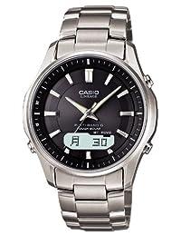 CASIO watch LINEAGE tough solar radio watch titanium MULTIBAND6 LCW-M 1a3jf 100TD-mens watch (japan import)
