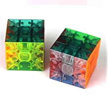 I-xun® Speed and Smooth Plastics Clear Cube Stickerless Speed Magic Cube