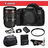 Canon EOS 5D Mark IV Digital SLR Camera 24-105mm f/4L II Lens Bundle International Version