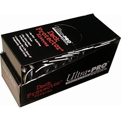 Ultra Pro PRO-MATTE SMALL (600 Count) Black Deck Protector Sleeves - YuGiOH 10 Pack Box/Case: Toys & Games