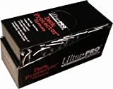 Ultra Pro PRO-MATTE SMALL (600 Count) Black Deck Protector Sleeves - YuGiOH 10 Pack Box/Case