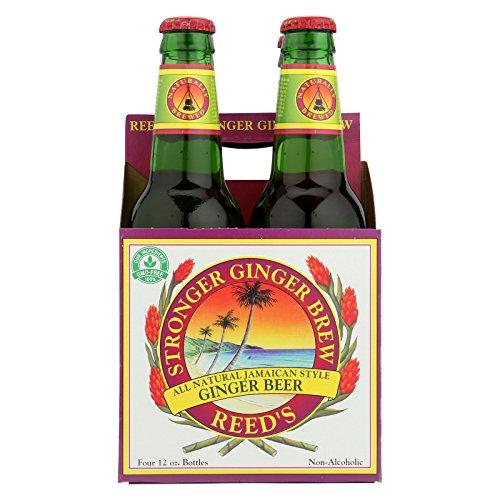Reed's Ginger Beer Ginger Brew - Stronger - Case of 6 - 12 Fl oz. by Reed'S Ginger Beer