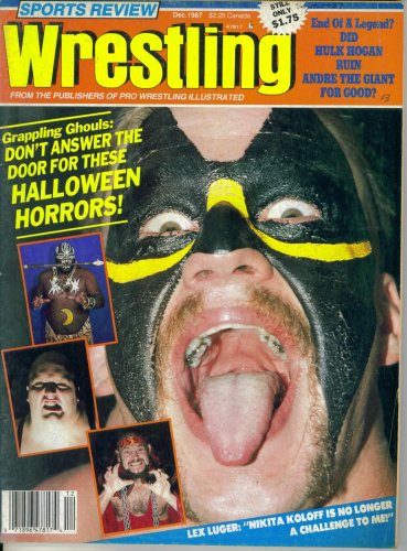 Sports Review Wrestling : Don't Answer the Door for These Halloween Horrors (December -