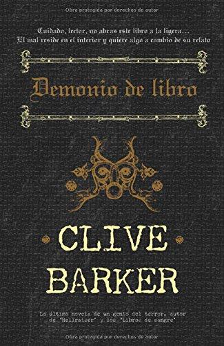 Demonio De Libro Eclipse Spanish Edition Barker Clive 9788498004809 Books