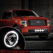 "Sirius NS34 4"" Driving Lights w/ LED light Ring Halogen H3 12V 55W Truck Van 4X4 Jeep (PAIR) KiWAV"