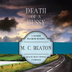 Death of a Hussy Audiobook