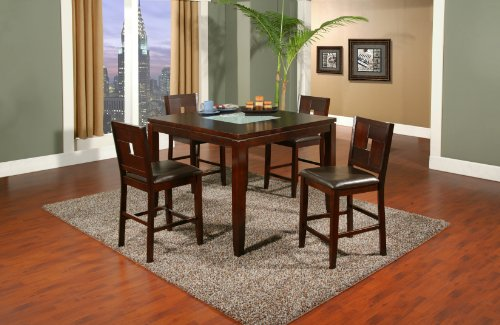 Alpine Furniture Lakeport Counter Height Pub Table