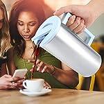 Wifehelper-Tazza-dAcqua-per-Alimenti-in-Acciaio-Inox-Multiuso-Resistente-allAcqua-in-Acciaio-Inox-1800ml-per-Succhi-di-Latte-caff-Latte-Caldo-al-Latte-tBlu