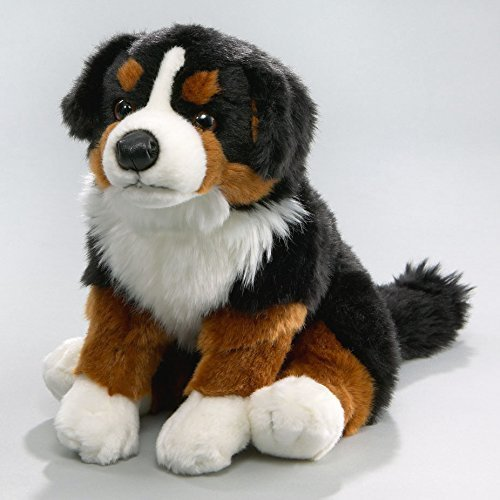 (Carl Dick Bernese Mountain Dog 10 inches, 30cm, Plush Toy, Soft Toy, Stuffed Animal 1885001)