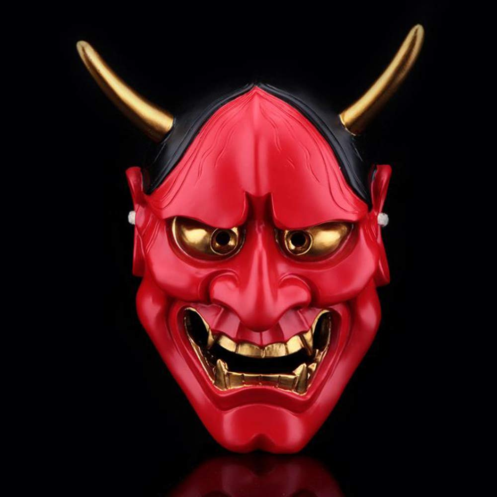 Halloween Edición Coleccionista Cosplay Atrezzo Blanco Ghost Academy Mariposa Cabeza Máscara,Red
