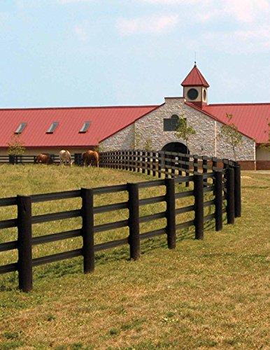 CenFlex Rail Horse Fence by Centaur Fencing (White, 660 ft)