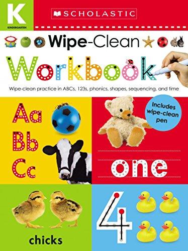 Scholastic Activity Books - Wipe Clean Workbook: Kindergarten (Scholastic Early Learners)