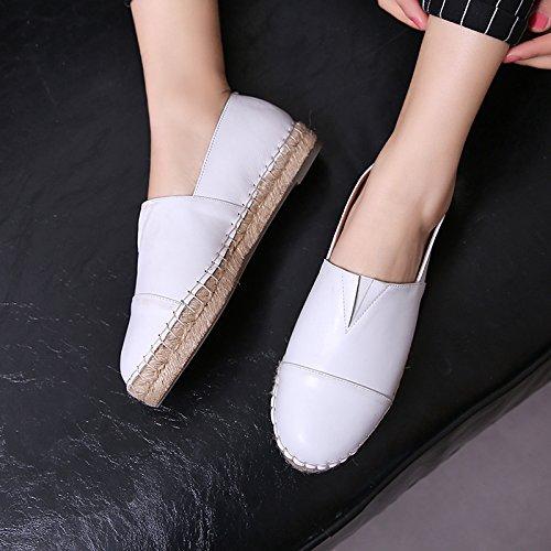Mini-flats Voor Dames Casual Witte Schoenen