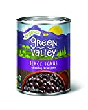 Green Valley Organics Black Beans, 15 Ounce (Pack of 12)