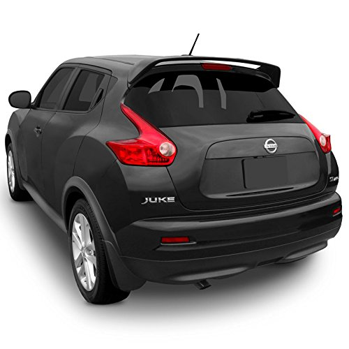 Dawn Enterprises JUKE11 Factory Style Pedestal Spoiler Compatible with Nissan Juke - Glacier White Pearl (QX1)