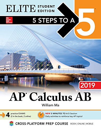 5 Steps to a 5: AP Calculus AB 2019 Elite Student Edition