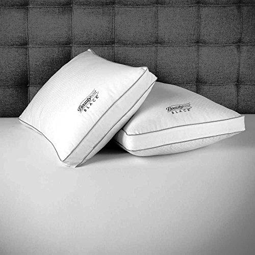 Beautyrest Soft Pillow (Beautyrest 4 Pack Pillows Filled with Dacron Comforel Fiber (KING))