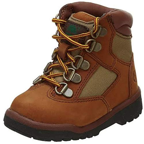 Timberland 6-Inch Leather and Fabric Field Boot (Toddler/Little Kid/Big Kid),Sundance,10 M US Toddler