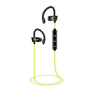 Sencillo Vida Auriculares Deportivos Bluetooth inalámbricos, Cancelación de Ruido, Auriculares estéreo portátiles, Sweatproof Stereo Sports Earbuds ...