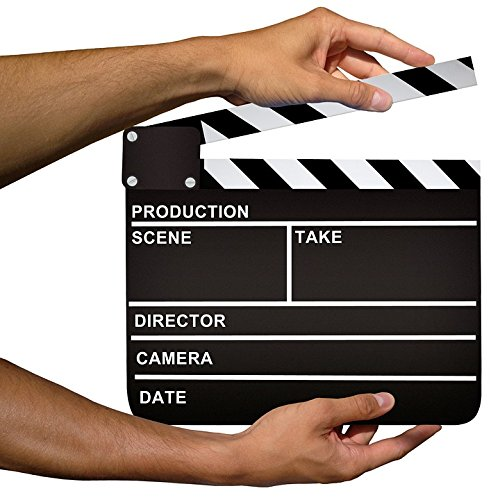 LAMINATED POSTER Board Cinema Production Clapper Hollywood Poster 24x16 Adhesive (Hollywood 16 Cinema)