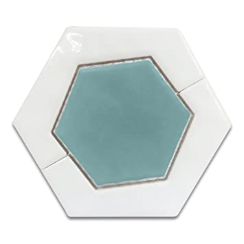 Eagle Keramik Mosaik Keramik Kombiniert Fliesen Hexagona Matt Und - Fliesen matt und glänzend kombinieren