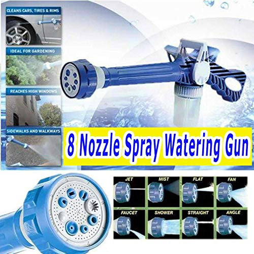 DATOO 2019 Multi-Function 8 in 1 Nozzle Spray Watering