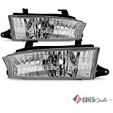 1997-1999 Legacy Replacement Headlights Driver+Passenger Side Pair LH+RH L+R 1998