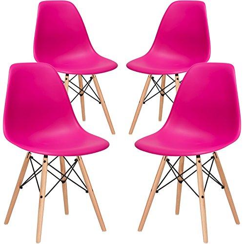 Amazon Com Poly And Bark Modern Mid Century Side Chair