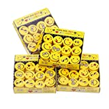 JULAN 48Pcs Emoji Pencil Erasers Emoticons Novelty Erasers for Party Favors School Classroom Prizes Rewards