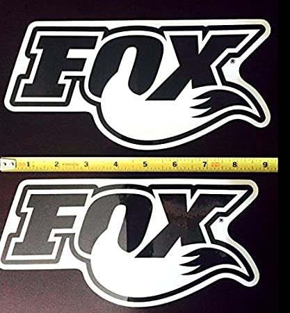 Fox Racing Shox Decals Stickers 9quotx45quot Free Shipping