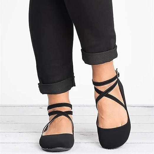 Women Round Toe Platform Strap Flat Heel Buckle Leopard Sandals Shoe