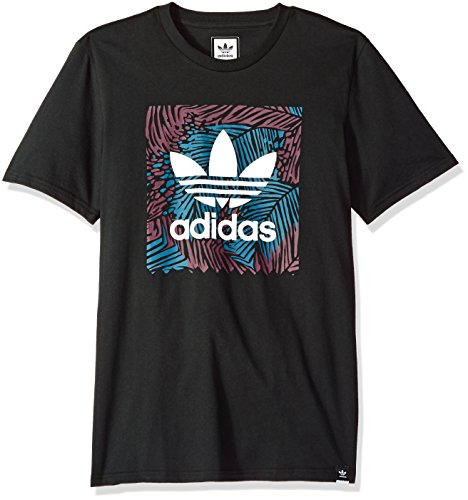 adidas Originals Mens Skateboarding Blackbird Palm Tee