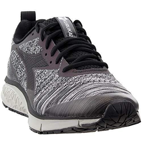 Diadora Mens Kuruka 2 Black Shape Running Casual Shoes,