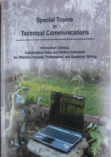 Special Topics in Technical Communications