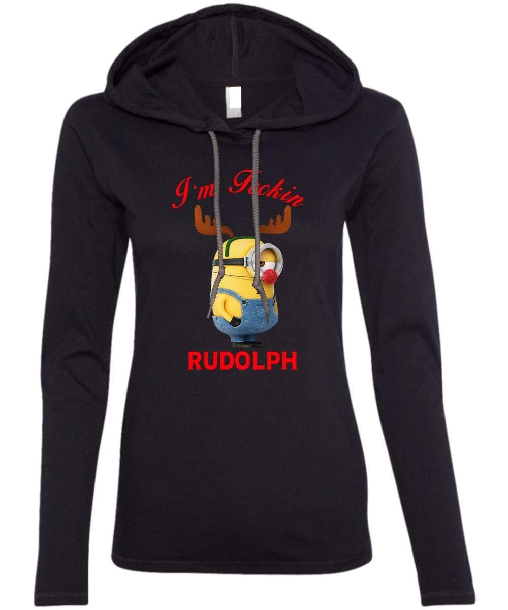I M Fecking Rudolph T Shirt Christmas T Shirt Minion T Shirt Ls S 9577