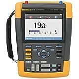 Fluke 190-202/AM 2 Channel LCD Color ScopeMeter Oscilloscope, 200 MHz Bandwidth, 1.7ns Rise time