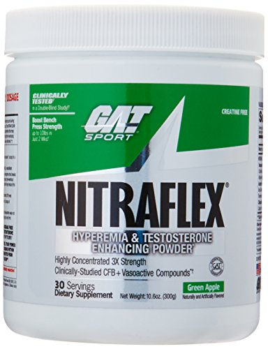 GAT Clinically Tested Nitraflex, Testosterone Enhancing Pre