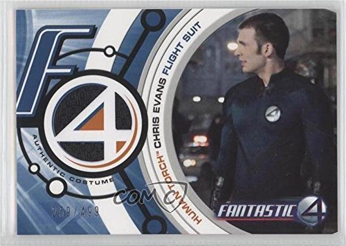 Human Torch Flight Suit #259/499 (Trading Card) 2005 Upper Deck Entertainment Fantastic 4 - Costume Cards #FF002 - 4 Fantastics Costumes
