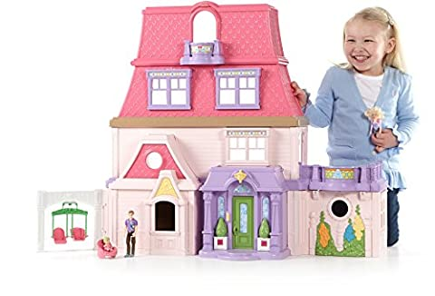 Fisher-Price Loving Family, Dollhouse - Fisher Price Loving Family Dolls