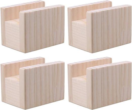 RDEXP 10x7x8.5cm Ancho de ranura 4cm Mesa de madera Escritorio ...